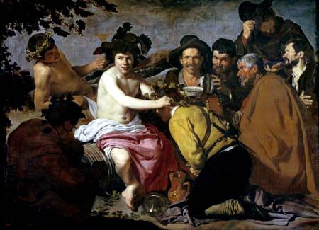 Diego R. de Silva y Velázquez - The triumph of Bacchus