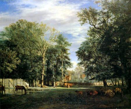 Adriaen van de Velde - Farm