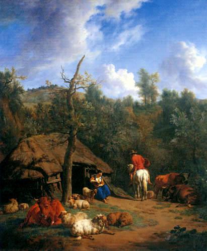 Adriaen van de Velde - The Hovel