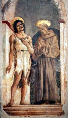 Domenico Veneziano (D. di Bartolo da Venezia) - Hl.Johannes der Täufer