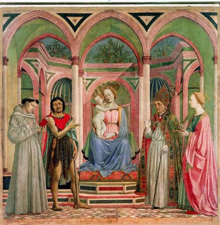 Domenico Veneziano (D. di Bartolo da Venezia) - Madonna with Child