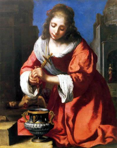 Jan Vermeer van Delft - St. Praxedis