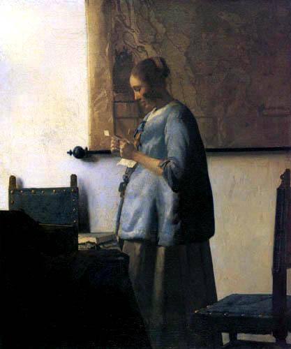 Jan Vermeer van Delft - Die Briefleserin