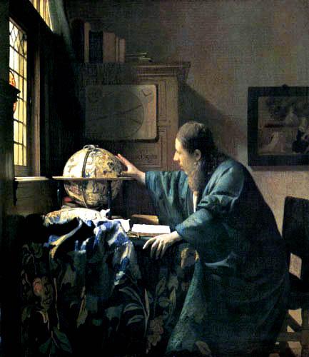 Jan Vermeer van Delft - Der Astronom