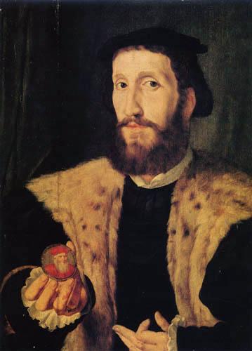Jan Cornelisz Vermeyen - Alfonso de Valdés