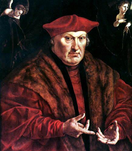 Jan Cornelisz Vermeyen - Fürstbischof Eberhard von der Marck