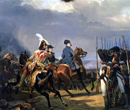 Emile Jean Horace Vernet - Battle of Jena