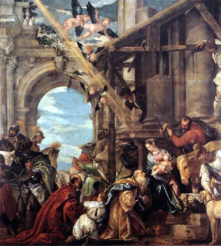 Paolo Veronese (Caliari, Cagliari) - The Adoration of the Herdsmen