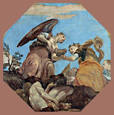 Paolo Veronese (Caliari, Cagliari) - Allegorie auf die Freien Künste