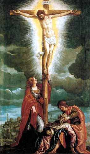 Paolo Veronese (Caliari, Cagliari) - Crucified Christ