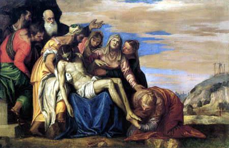 Paolo Veronese (Caliari, Cagliari) - Beweinung Christi