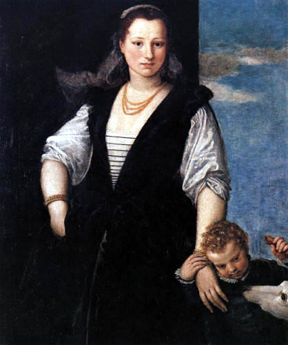 Paolo Veronese (Caliari, Cagliari) - Isabella Guerrieri Gonzaga Canossa
