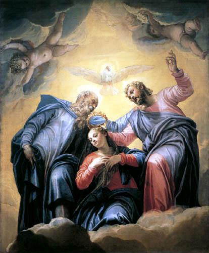 Paolo Veronese (Caliari, Cagliari) - Krönung der Jungfrau Maria