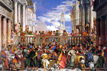 Paolo Veronese (Caliari, Cagliari) - Marriage at Cana