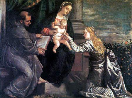 Paolo Veronese (Caliari, Cagliari) - The espousal of St. Catharine