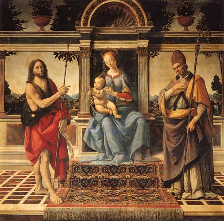 Andrea del Verrocchio (A.d. Cione) - Madonna mit Kind