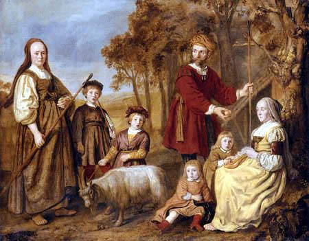 Jan Victors - Porträt einer Familie