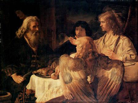 Jan Victors - Abraham and three angels