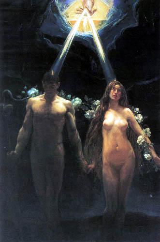 Jose Villegas - The creation of Adam and Eva