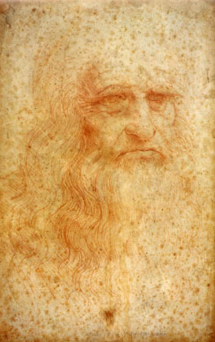 Leonardo da Vinci - Selfportrait