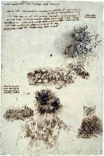 Leonardo da Vinci - Weltuntergangsstudie