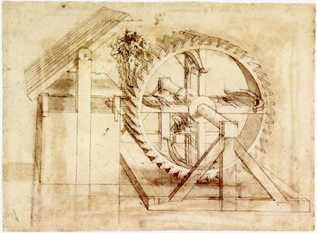 Leonardo da Vinci - Rapid-fire crossbow