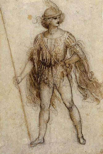 Leonardo da Vinci - Young Man