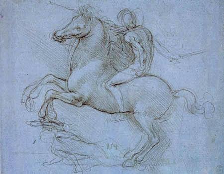 Leonardo da Vinci - Reiterstudie