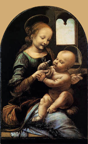 Leonardo da Vinci - Madonna Benois