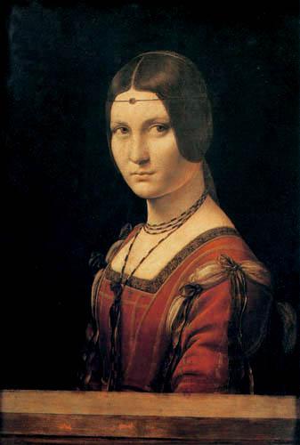 Leonardo da Vinci - La Belle Ferronnière
