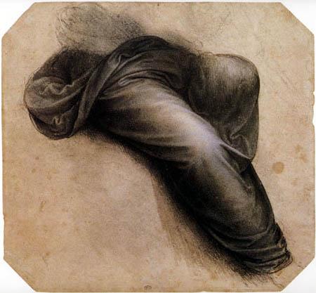Leonardo da Vinci - Studie zu Anna Selbdritt