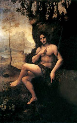 Leonardo da Vinci - Bacchus