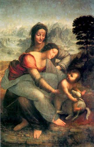 Leonardo da Vinci - Anna Selbdritt