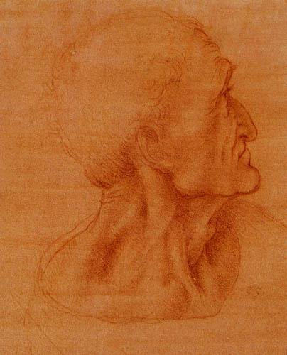 Leonardo da Vinci - Study for the Last Supper, Judas