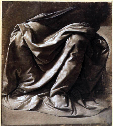 Leonardo da Vinci - Drapery of a Dress