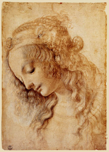 Leonardo da Vinci - Portrait of a Woman