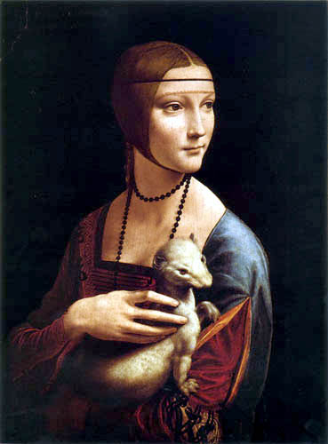 Leonardo da Vinci - The lady with the ermine