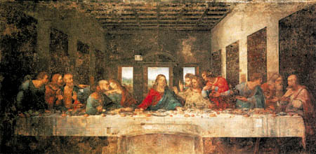 Leonardo da Vinci - The Lord´s Supper