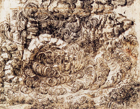 Leonardo da Vinci - Naturkatastrophe