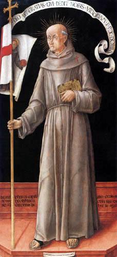 Bartolomeo Vivarini - Holy John of Capistrano