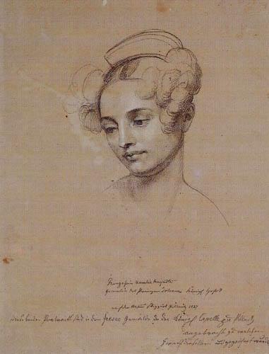Carl C. Vogel von Vogelstein - Amalie Auguste of Bavaria