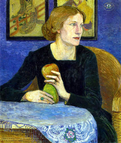 Heinrich Vogeler - Porträt Martha Vogeler