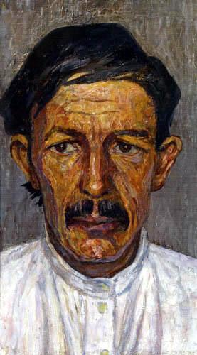Heinrich Vogeler - Bildnis eines Flössers