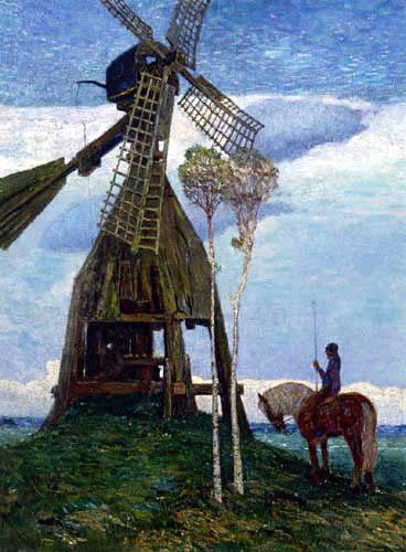 Heinrich Vogeler - Mühle im Teufelsmoor