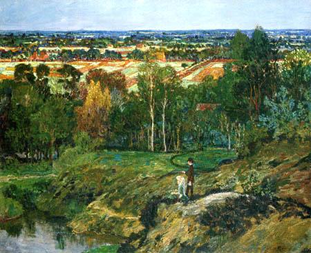 Heinrich Vogeler - Sonnenschein im Moor