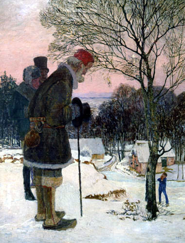 Heinrich Vogeler - Wintermärchen