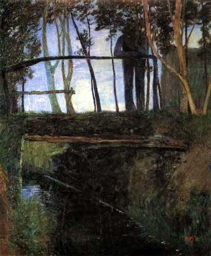 Heinrich Vogeler - Crépuscule