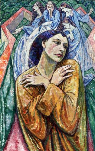 Heinrich Vogeler - The sorrow of women in war