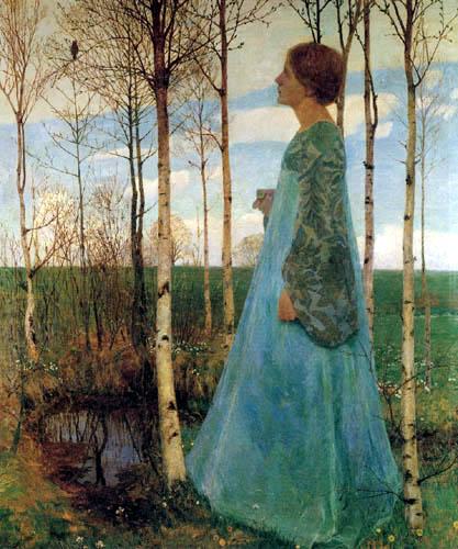 Heinrich Vogeler - Spring Time