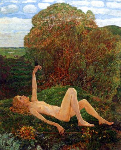 Heinrich Vogeler - Primavera